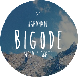 bigode . handmade . skate . wood